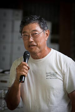 Roy Honda of South Kona.