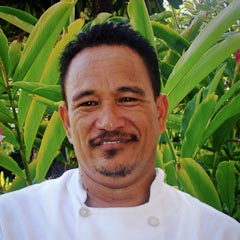 Clement Kaimiola, Executive Sous Chef, Sheraton Keauhou Bay Resort