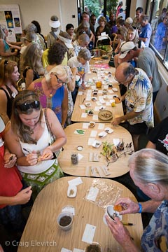 First annual Kaua'i Seed Exchange in 2008.