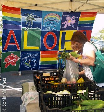 Earth Matters sells a wide range of vegetables.