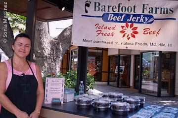 Kim Erb of Barefoot Farms Hawaii.