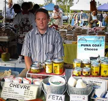 Steve Sayre of Puna Goat Cheese.