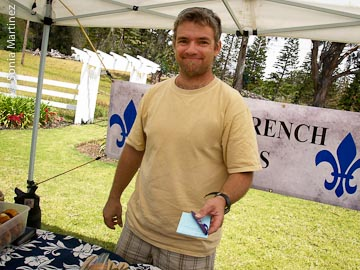 David Touchet of Palani French Bakers.