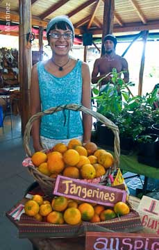 Catrina Saragoza of the Koa'e Farmers Collective.