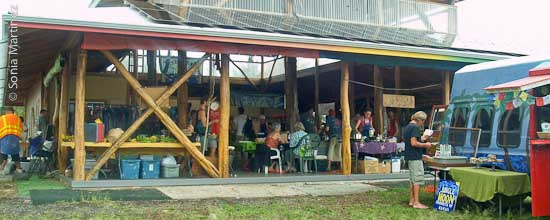 The SPACE market is located in the Seaview subdivision in lower Puna.
