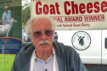 Dick Threlfall of Hawaii Island Goat Dairy