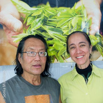 Eva Lee and Chiu Leong of Tea Hawaii & Co.