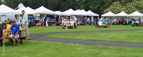 Waimea Town Market, located at Parker School.