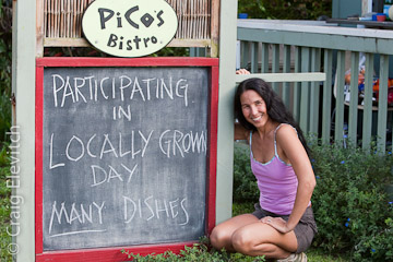 Local food will be highlighted in restaurants in the North Kohala Eat Locally Grown week.